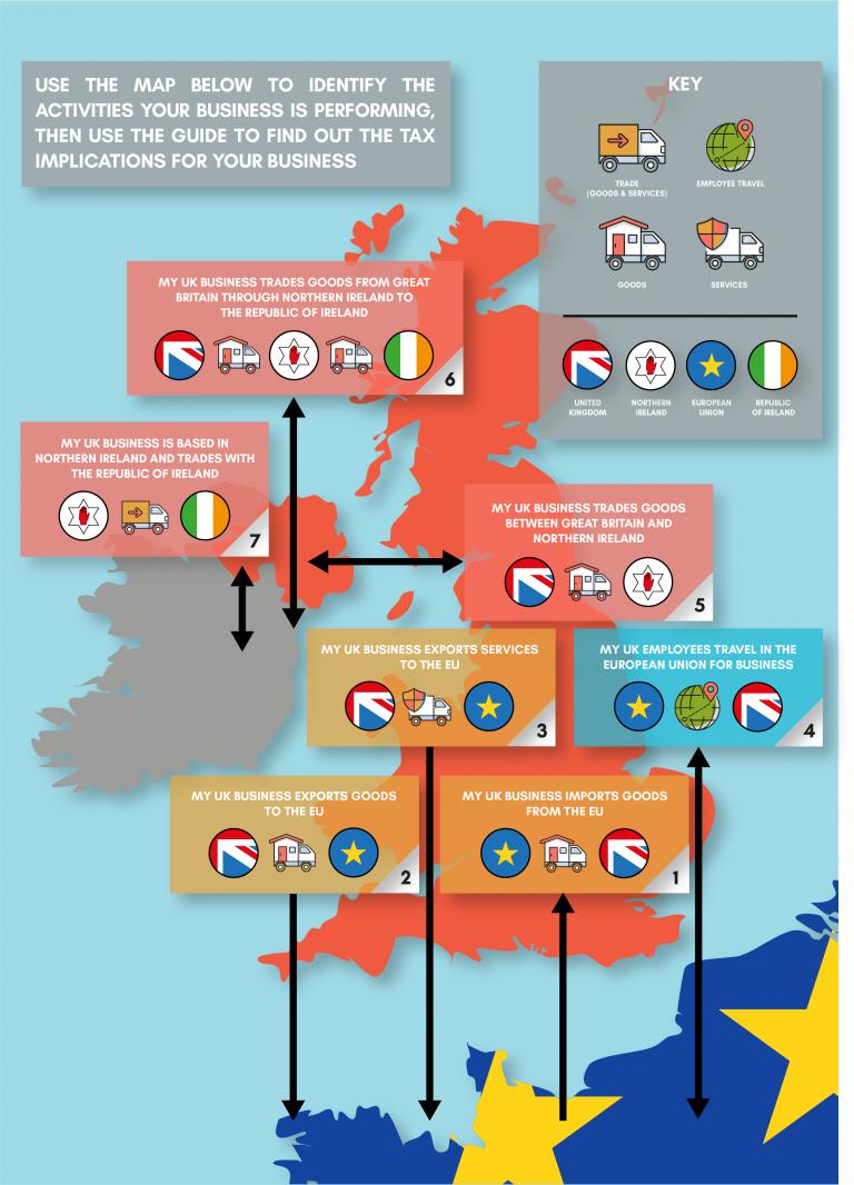 Brexit VAT Map